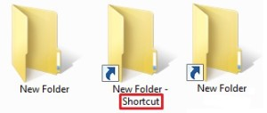 Folders and Shortcuts