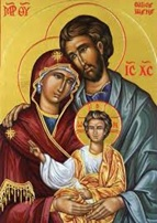 Icon of the Holy Family.