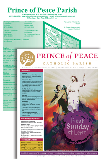 Prince of Peace Cover Redesign