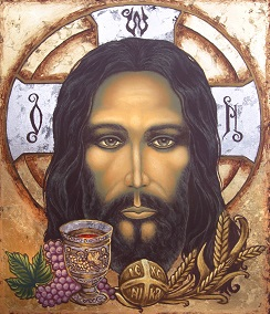 Image of Jesus, the Bread of Life.
