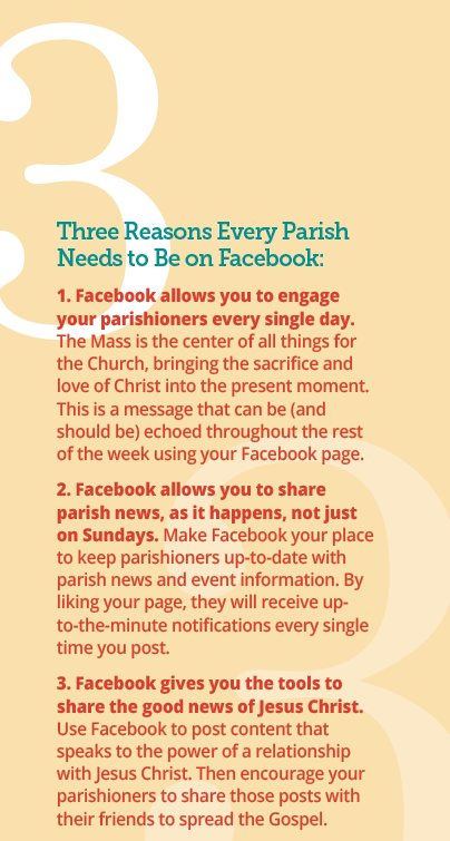 Three Reasons Every Parish Needs to Be On Facebook
