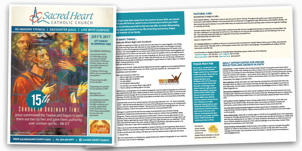 Church Bulletins Publications To Inspire And Engage Your