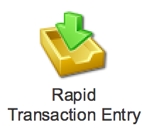 Rapid Transaction Entry Image