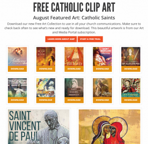 free catholic clip art