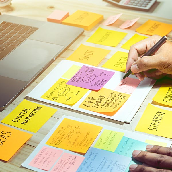 Compilation of messy notes on marketing strategy